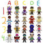 [CLOSED] Mini Adopts Round 2! by BlueFanG1rl