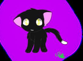 Ravenpaw Chibi by Kurai-Phantom