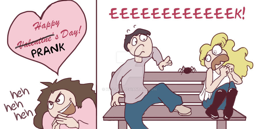 Elegant Happy Valentineu0027s Prank Day By ...