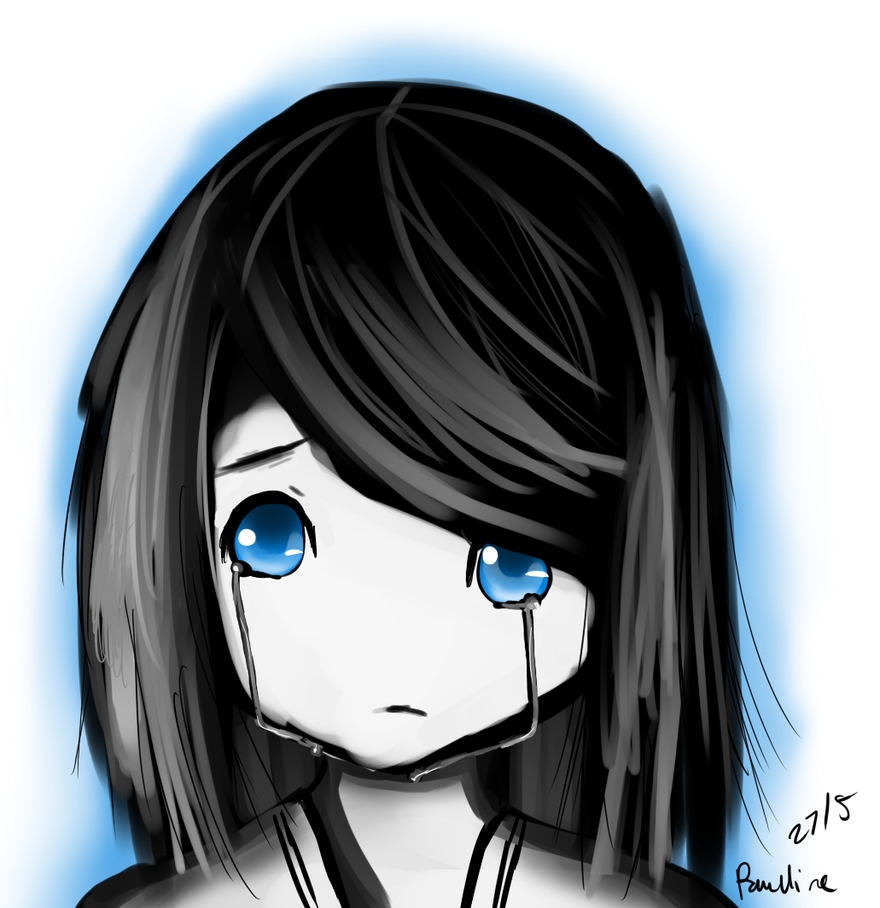 Blue eyes is sad eyes by iRin3Kagamin3 on DeviantArt
