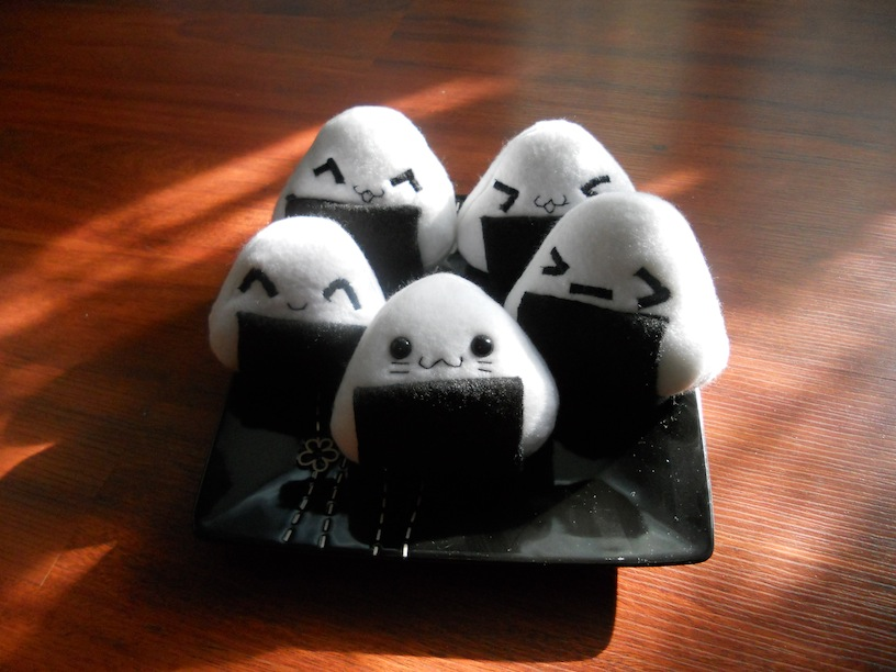Onigiri Plushies by Love-Who