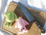 Squids on the Cutting Board