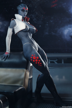 Mass Effect - Gina Cale Pinup #1