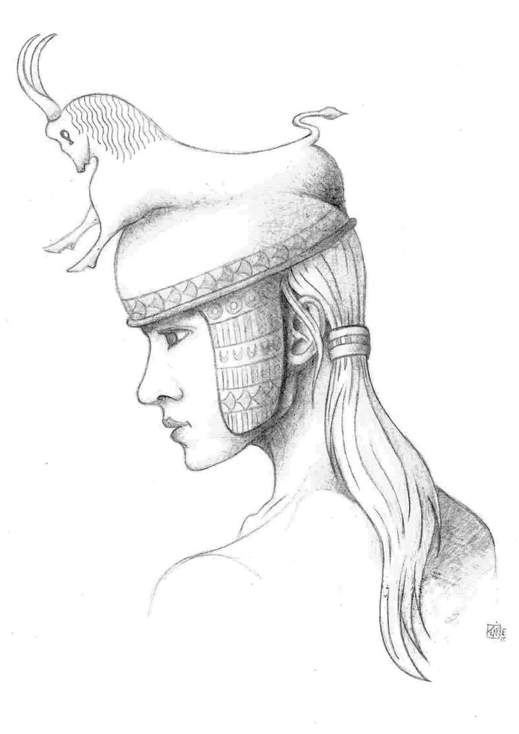MINOAN PRINCESS by KEKIONE