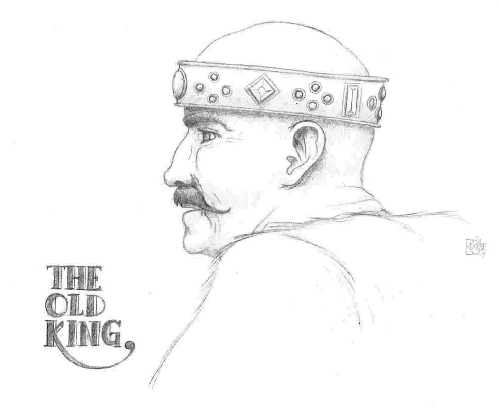 The Old King by KEKIONE