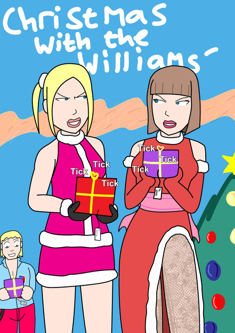 Tekken Williams Sisters Christmas by PhilJoeO