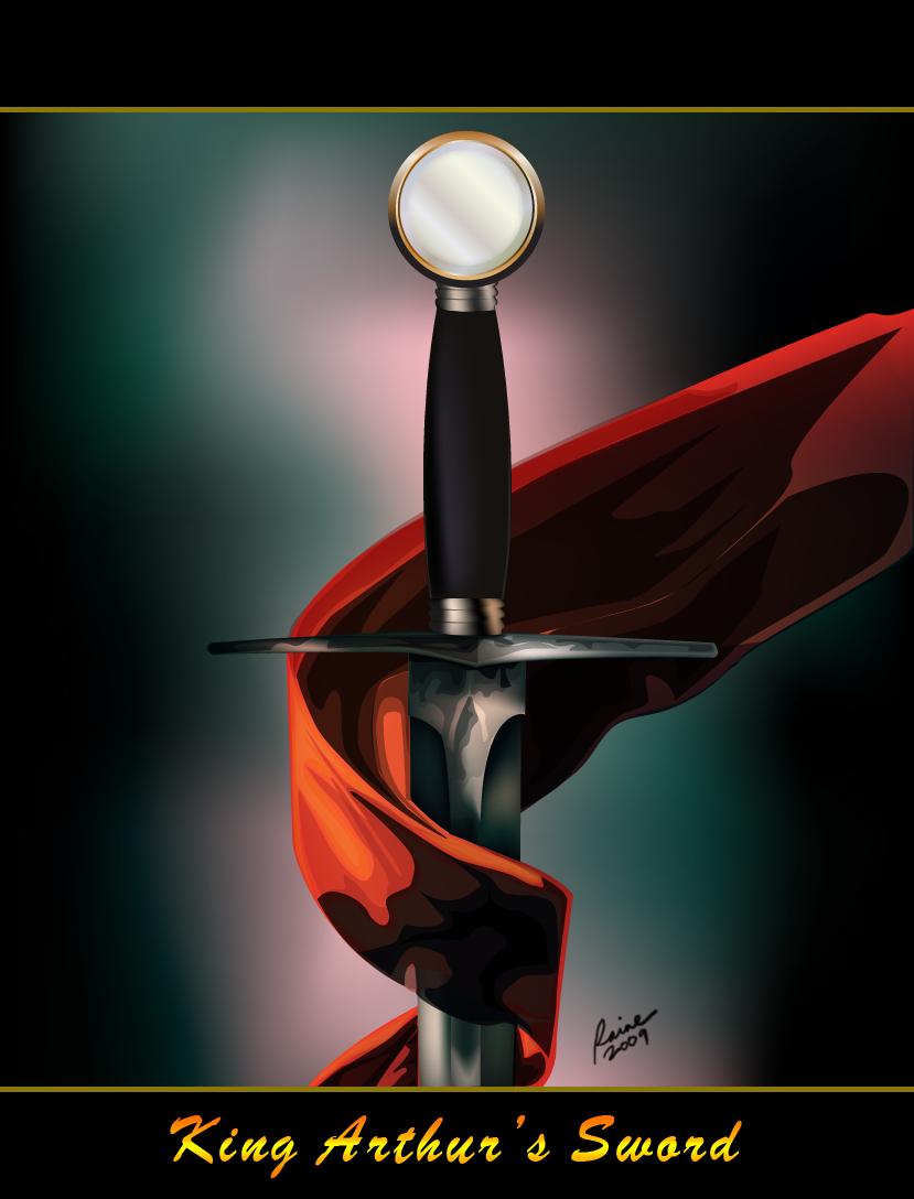 King Arthur's Sword by loreyn