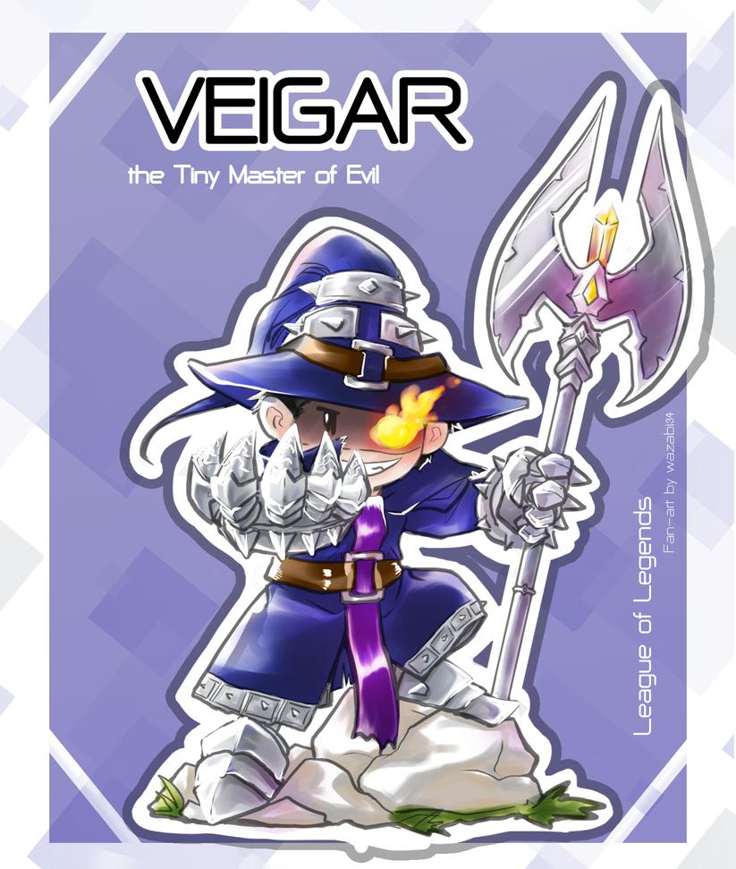 Veigar - LOL by wazabi34