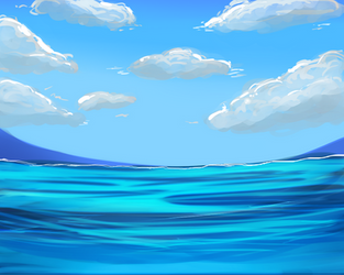 Free to use Sea background by miremi14