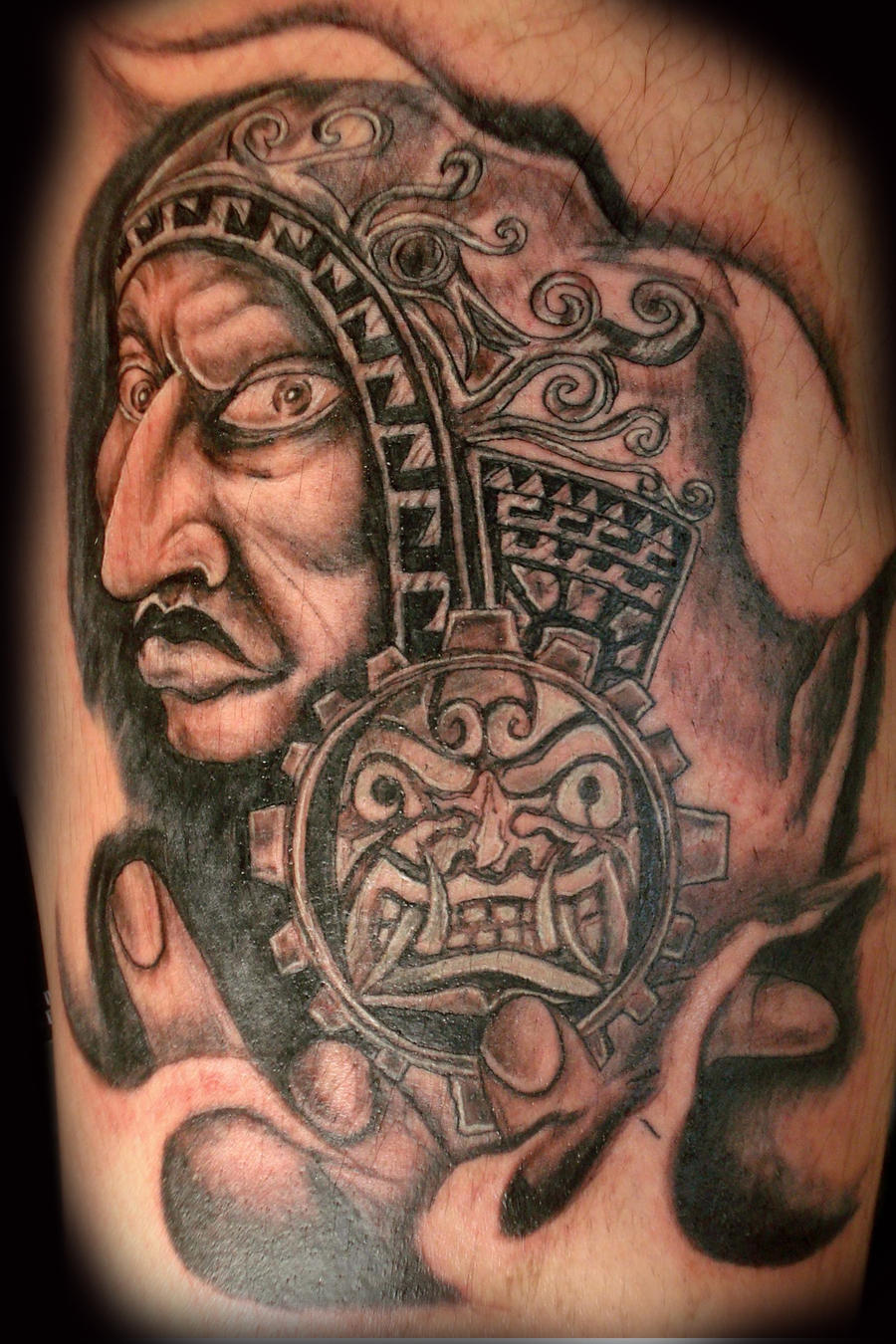 Peru tattoo by henrysayasart on deviantart for Peruvian tattoos designs