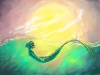 mermaid by Larinor