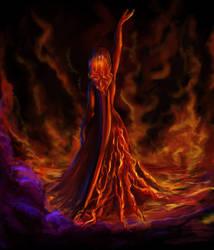 a lil Fire