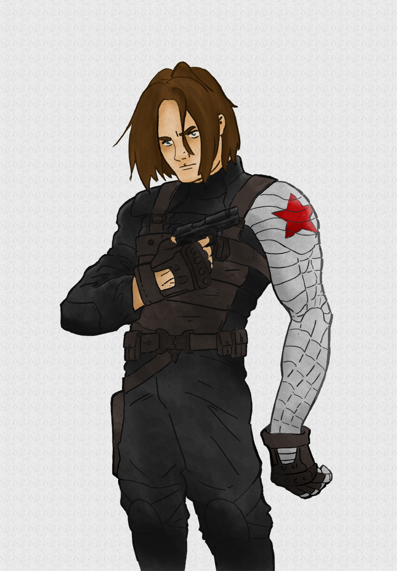Bucky Barnes, The Winter Soldier by DocDestructo on DeviantArt