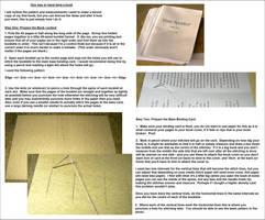 Tutorial: Hand Book Binding 1 by davidanaandrake
