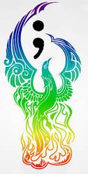 Phoenix Tattoo by davidanaandrake