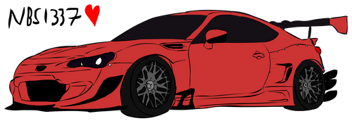 GT86 Rocket Bunny by NoobSlayers1337