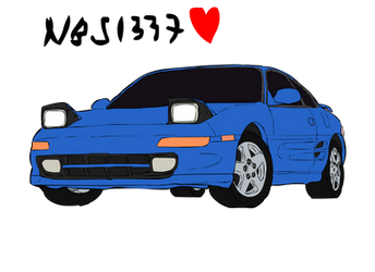 Toyota MR2 (SW20) by NoobSlayers1337