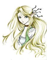Elegant Elf -Original in link- by OmegaTheEnd
