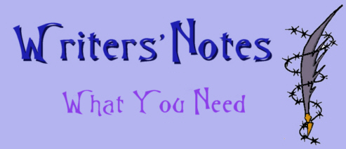 Writers Notes - Tools You Need by DarkDelusion