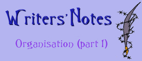 Writers Note - Organisation 1 by DarkDelusion