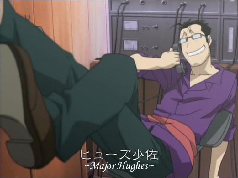 FMA: Major Maes Hughes by CherryBlossom-Sakura