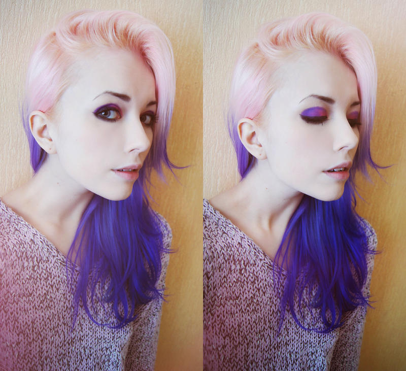 Pink and Purple by Helen-Stifler