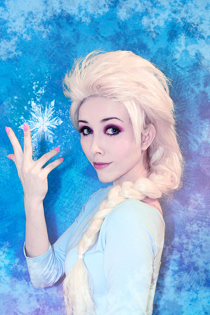 Frozen Elsa test cosplay by Helen-Stifler