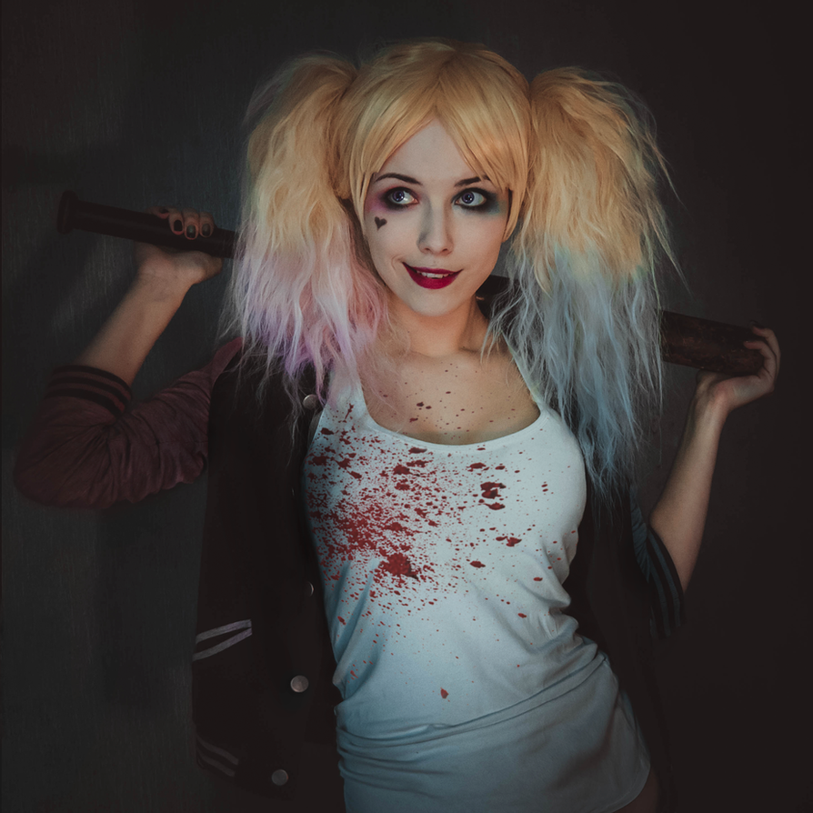 Suicide squad Harley Quinn by Helen-Stifler