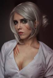 Ciri makeup by Helen-Stifler