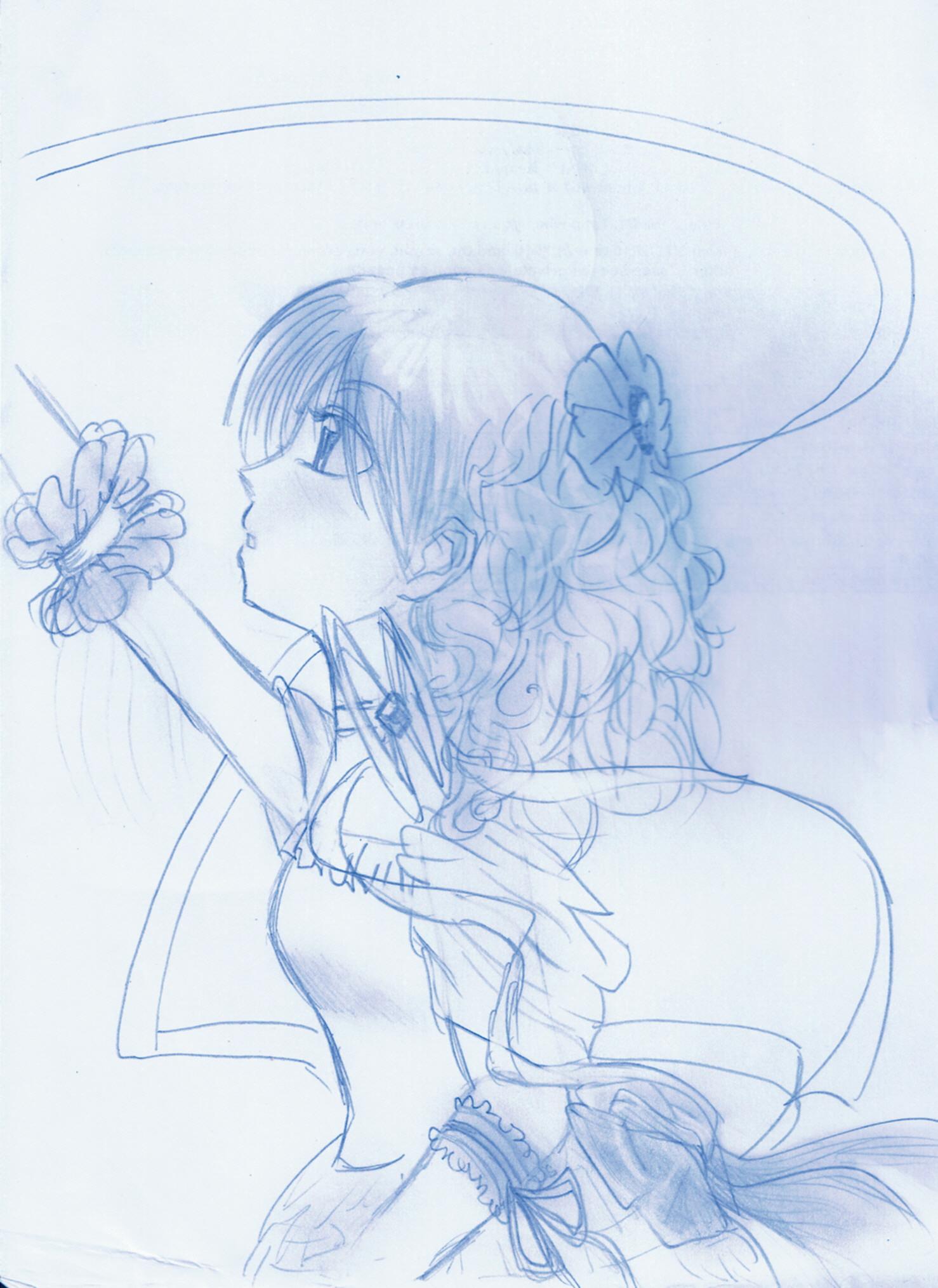 Ribbon Girl by Dianoka