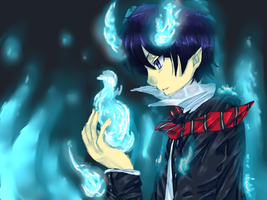 The Blue Exorcist by Dianoka