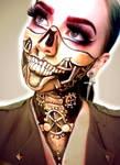 Steampunk Skeleton by chantithefox