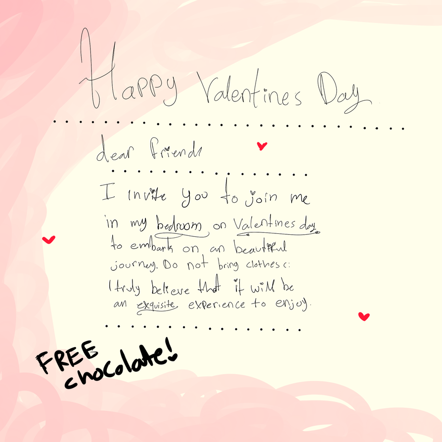 Valentines Letter By Luchiachan ...