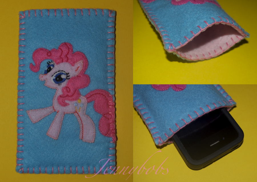 MLP Pinkie pie phone case by Blindfaith-boo