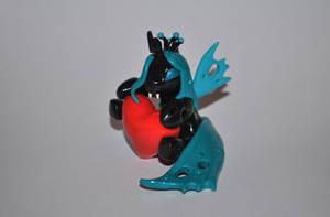 Queen chrysalis by Blindfaith-boo
