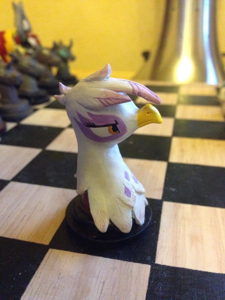 chess gilda gryphon by Blindfaith-boo