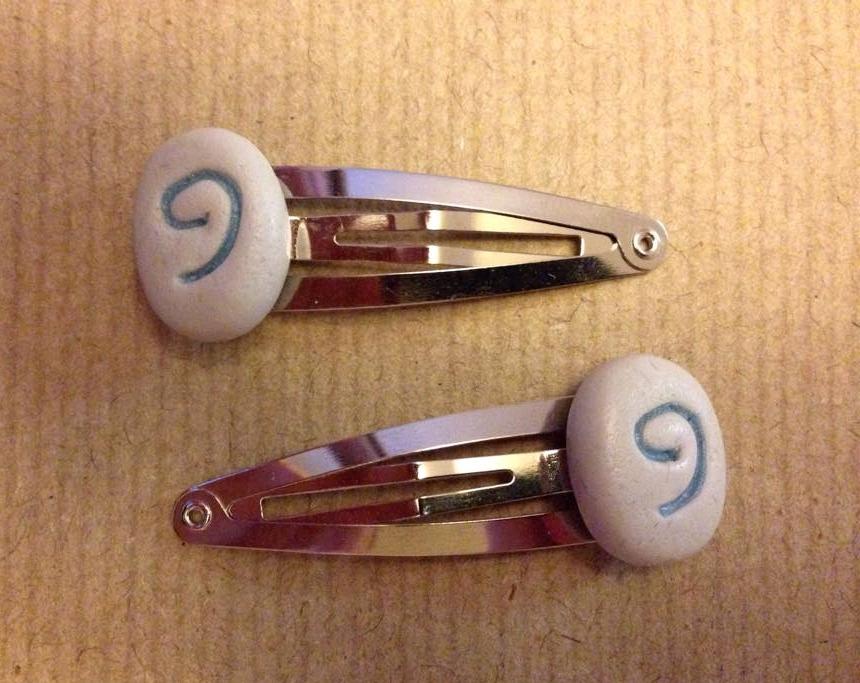 Hearthstone hair clips by Blindfaith-boo