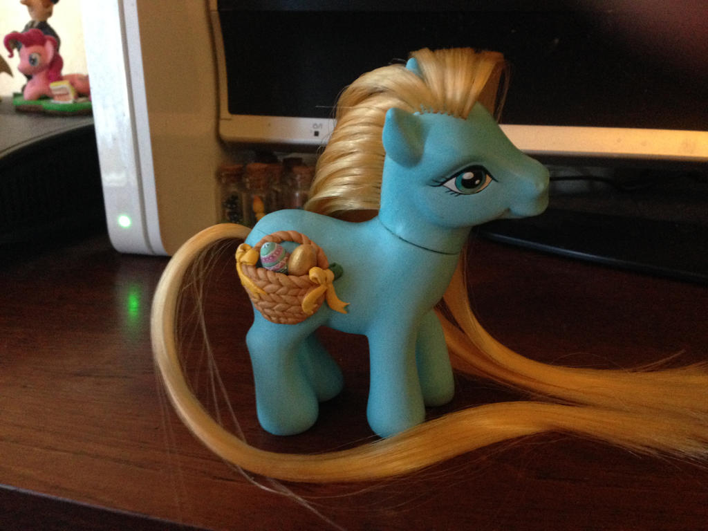 WIP Easter pony update by Blindfaith-boo