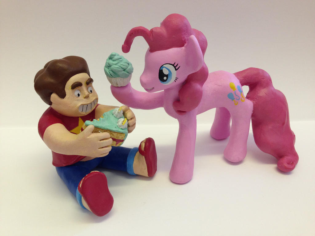 steven Universe an Pinkie pie by Blindfaith-boo