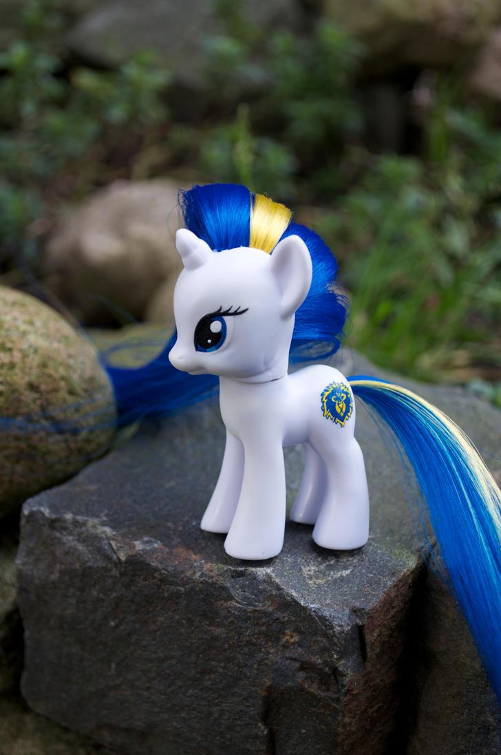 Alliance pony by Blindfaith-boo
