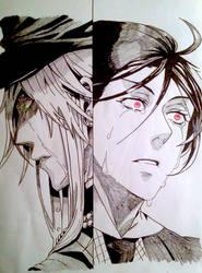 Undertaker and Sebastian ~ Cry by RAWRHONEY