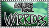 AzureHowl: Warriors Stamp by RolePlayGalPaw