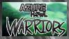AzureHowl: Warriors Stamp by RolePlayGalPaw