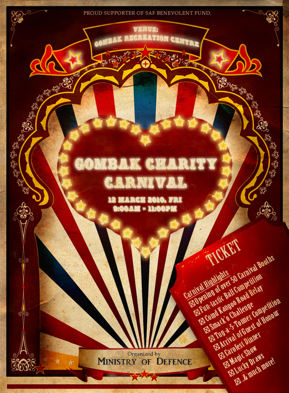 Charity Carnival Poster 2010 by Damianwrx on DeviantArt
