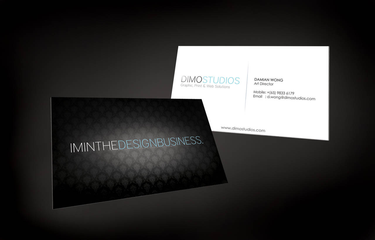 I'm in the Design Business by Damianwrx