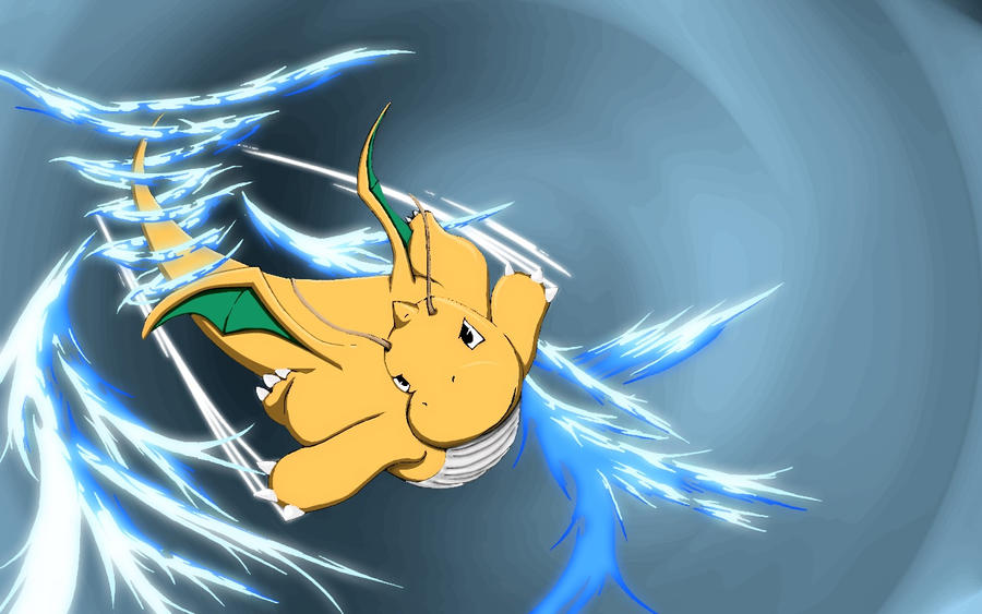 Dragonite Wallpaper v.2 by Ambience19