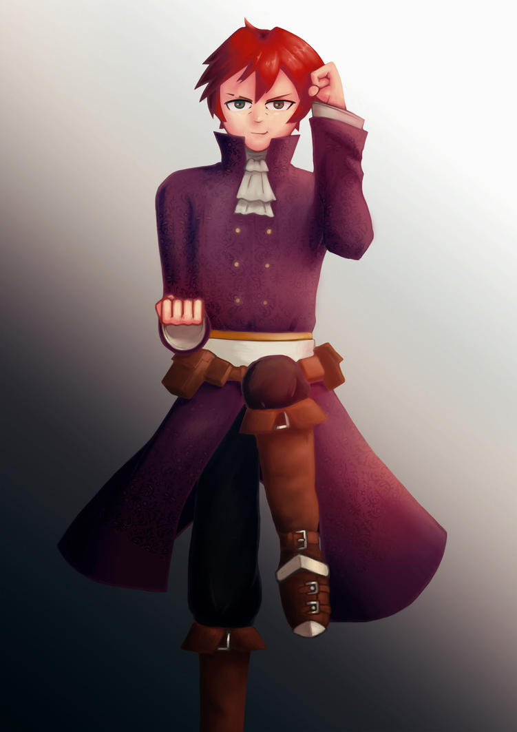 RPG PC Commission: Vaz'in by Ambience19