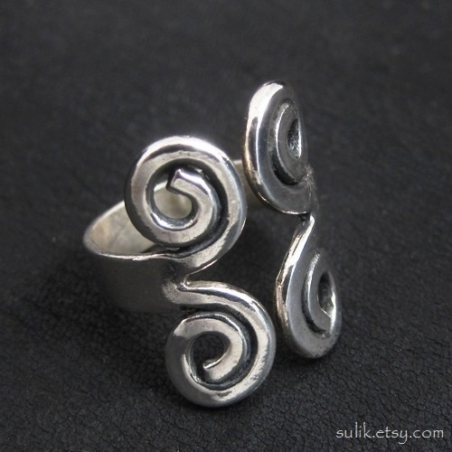 Silver Viking ring by Sulislaw
