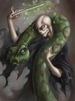 The Dark Lord Cometh by kupidkilla