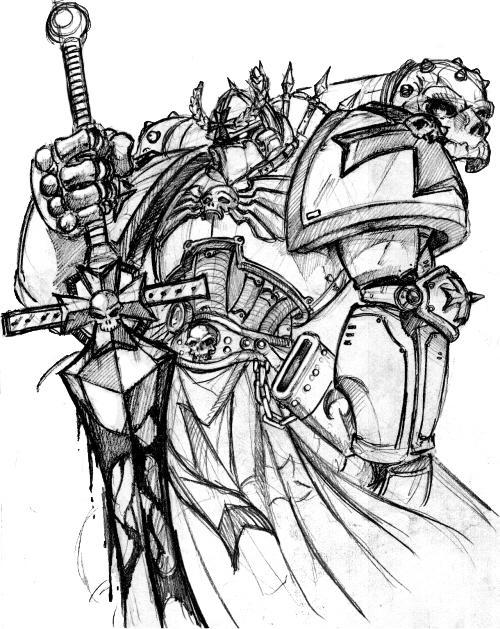 WarHammer Hero by kupidkilla